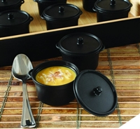 EMI-Yoshi Emi-620 2.7 oz Micro Cooking Pots 100 Sample Dishes