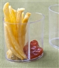 Emi-Yoshi Emi-630 2 oz Clear Plastic Duo Sectional Container Cup