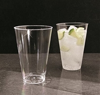 Emi Yoshi Clear Ware 14 oz Disposable Plastic Tumblers