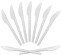 EMI-GRKNCP Greenables Cpla Knife 1000 compostable Knife