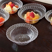 Emi-Yoshi 5oz Disposable Plastic Dessert Bowls