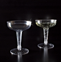 Emi-Yoshi 2 pc 4oz Old Fashioned Champagne Glasses