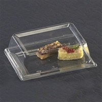 "Emi-Yoshi Emi-Rp6LP 7.5"" by 5.5"" Rectangle Plate Dome Lid (pet)"