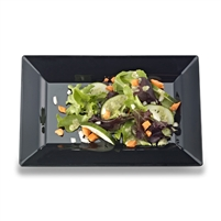 "Emi-Yoshi Emi-Rp8 10"" By 6.5"" Rectangle Disposable Plastic Salad Plates"