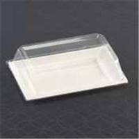"Emi-Yoshi Emi-Rp8lp 10"" By 6.5"" Rectangle Plate Dome Lids (Pet)"