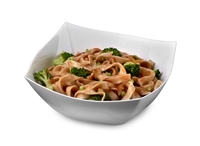 EMI-Yoshi Emi-Sb16 16oz Square Disposable Plastic Serving Salad Bowls