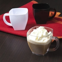 EMI-Yoshi EMI-SM4 4oz Square Mug Coffee Mugs / Esspresso Tea Cups