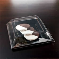 "EMI Yoshi Emi-Sp11LP 10.75"" Square Disposable Plastic Dome Lid ( Pet )"