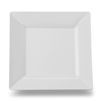 "EMI Yoshi Emi-Sp6 6.5"" Square Disposable Plastic Dessert Plates"