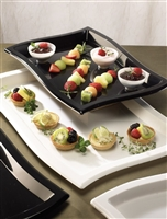 "EMI-Yoshi Emi-Wt1218 12"" x 18"" Rectangle Wave Tray 25 Trays"