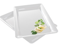 "Emi-Yoshi Disposable Rectangle Serving Trays 12"" By 18"""