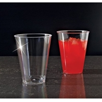 Emi Yoshi Clear Ware 7 oz Disposable Plastic Tumblers