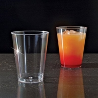 Emi Yoshi Clear Ware 8 oz  Disposable Plastic Tumblers