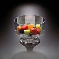 Emi-Yoshi 40 oz Clear Disposable Plastic Trifle Bowl