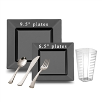 Square Full Party Package Black