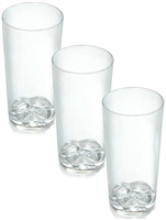 Zappy 1.75 oz Shooter Glasses Heavy Weight Disposable Plastic Tall Shot Glasses