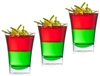 Zappy 2 oz Disposable Plastic Clear Sampler Shot Glasses