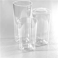 Emi-Yoshi Emi-Ttgflp Plastic Triangle Lids For 10 12 and 14 oz Triangle Tumblers