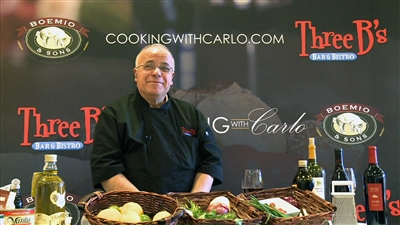 COOKING WITH CARLO ---SOLD OUT---  Feb. 28, 2019