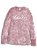 Ratio 1:1 Ladies Long Sleeve Burnout Thermal - Pink
