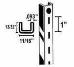 "Heavy Duty Standard 1/2"" Slots (Box of 10)"