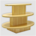 3 Tier Table - Oval