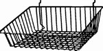 Shallow Sloped Front Basket