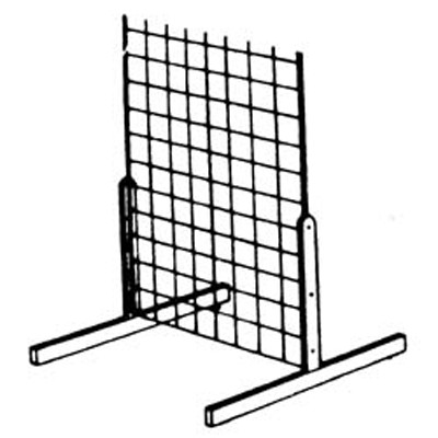 Gridwall Panel Legs Gridwall Bases Fixturedepot