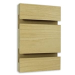Maple Melamine Slatwall