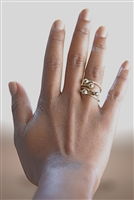 14k Gold Bangle Ring 1