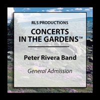 Peter Rivera Band : 1 General Admission Ticket  Founding Rare Earth Lead Singer/Drummer