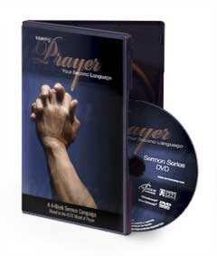 Making Prayer Your Second Language  - Sermon Video DVD
