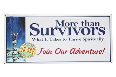More than Survivors Horizontal Banner
