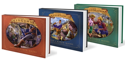 The Kingdom Tales Trilogy - 30th Anniversary Edition - by David and Karen Mains