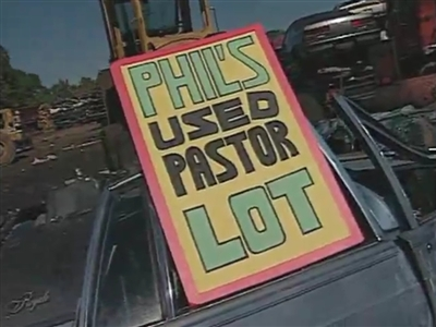Phil's Used Pastor Lot