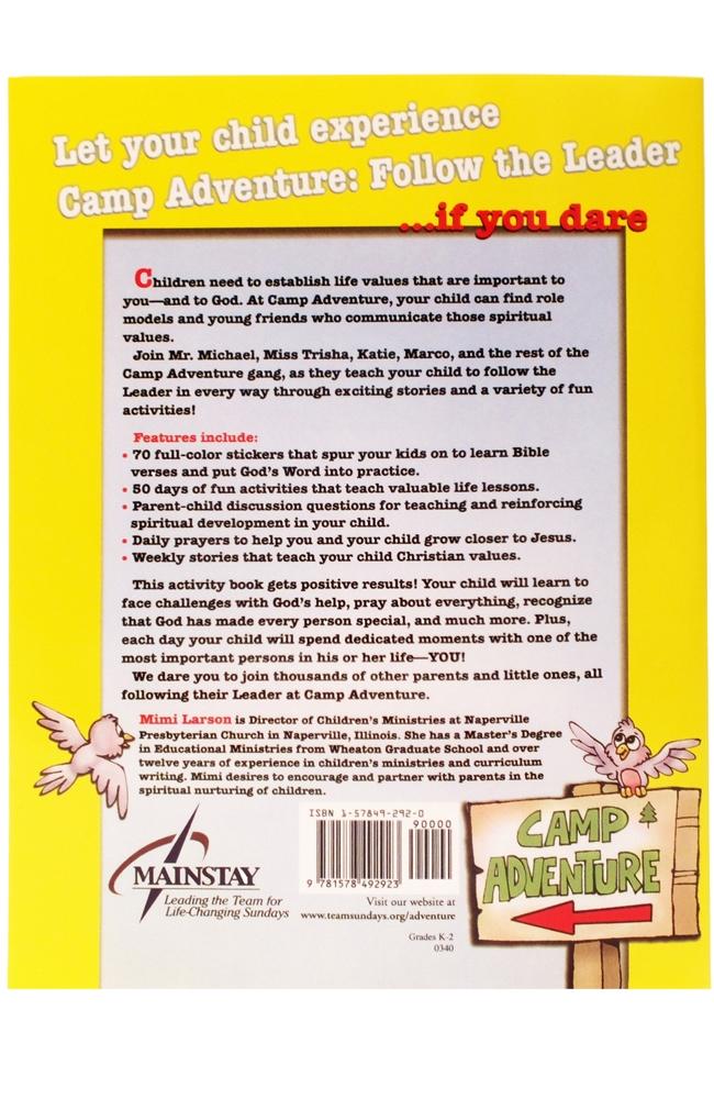 Follow the Leader Children's Activity Book (K-Grade 2)