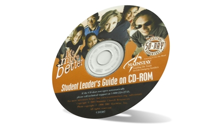 Life More Better Student Leader's Guide on CD-ROM