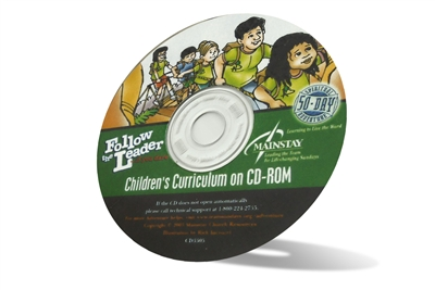 Follow the Leader Children's Curriculum on CD-ROM