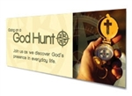 God Hunt by Karen Mains  - Sermon Resources Banner