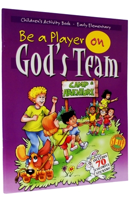 Kid's Activity Book (Grades K-2) Be A Player on God's Team