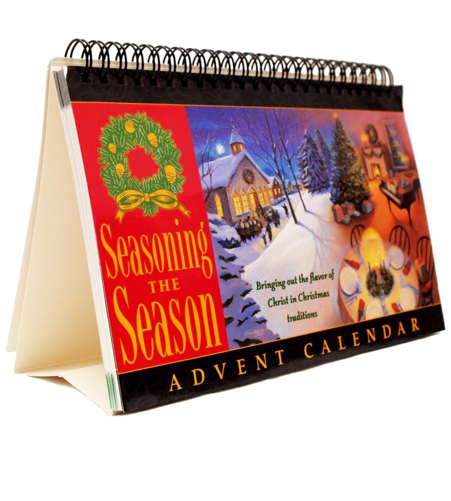 Advent Calendar Devotions for December for Seasoning the Season