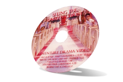Discussion Starter Dramas DVD for Seeing the Unseen Christ