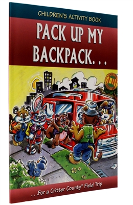 Pack Up My Backpack for a Critter County Field Trip (Children's Activity Book for Grades K-2)