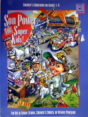 Kid's Curriculum (Grades 1-6) Son Power for Super Kids