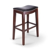 Seriena backless bar stools, backless counter stools, counter height stools, leather stools, bar stools with Neil heads, counter bar stools, bar counter stools, bar and counter stools, modern bar stool, leather counter stool, contemporary bar stool