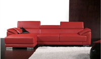 Seriena 2 piece sectional sofa, red sectional sofa, leather sectionals, Loveseat, chaise lounge, sectional sofas with chaise, leather sectional sofa with chaise, l shaped sectional sofa, sofas sectionals, leather sectional sofas