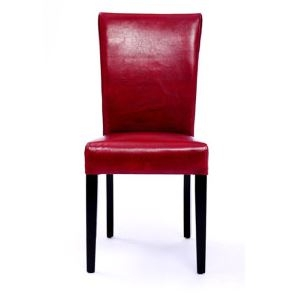 Red leather dining chair, Seriena Shanghai Leather Dining Chair, leather dining chairs, red dining chair, luxury dining chairs, leather dining chair, dining room chairs leather, leather dining chairs for sale, dining room chairs upholstered