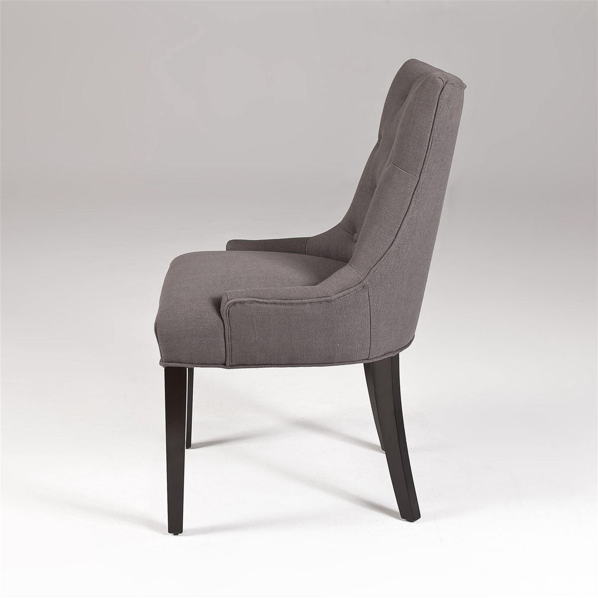 Gray Linen Dining Chairs | Modern Dining Chairs | Gray Linen ...