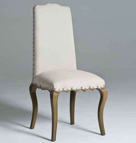 High Back Dining Chairs | Linen Dining Chair | Solid Linen Dining ...