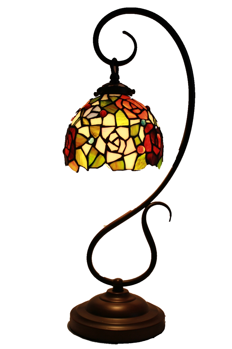 Tiffany reading lamps reading lamp tiffany reading for 10 inch table lamp